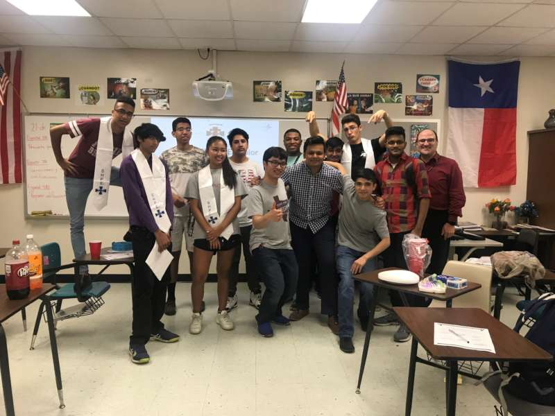 New 2018 2019 Trinity HS SHPE Jr Executive Officers